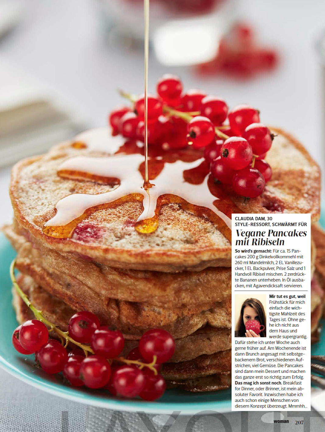 Pancakes fürs Food Styling Portfolio