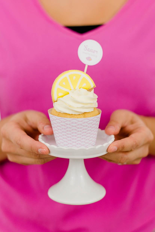 Food Styling Portfolio Teaser mit Cupcake