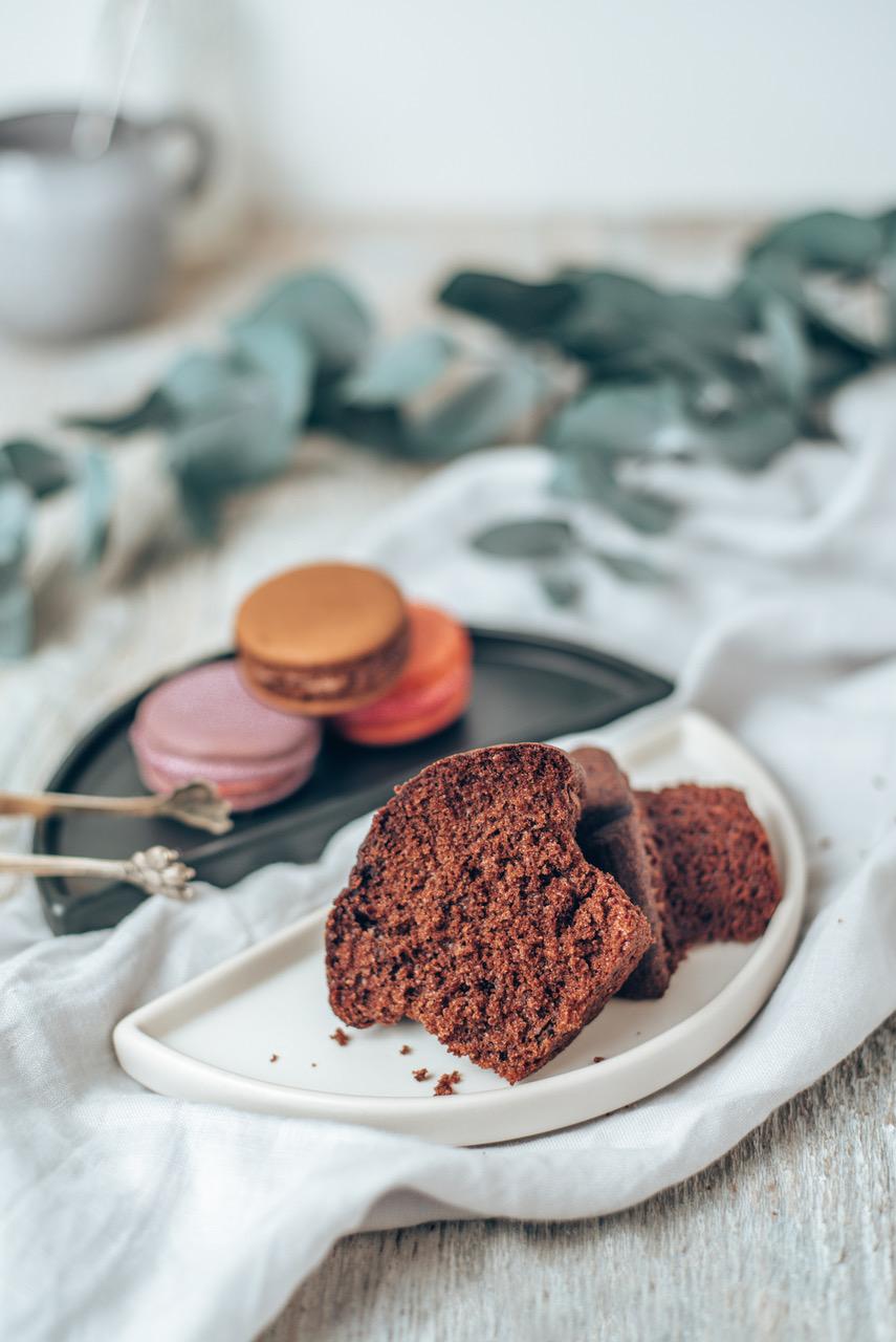 Muffin und Macarons