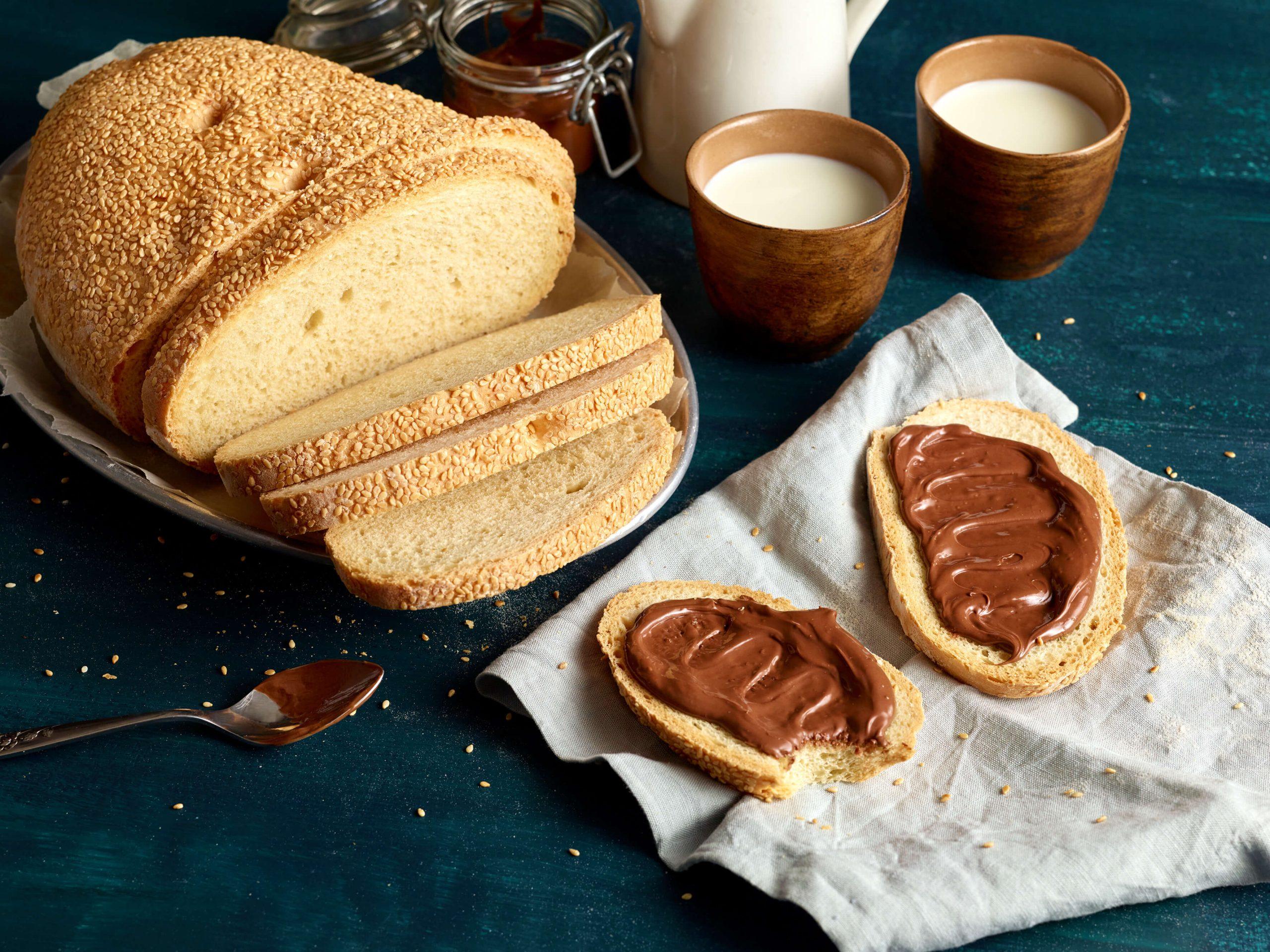 Brot mit Aufstrich Food Styling